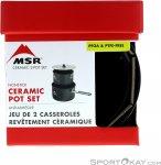 MSR Keramik 2-Pot Kochtopfset-Schwarz-One Size