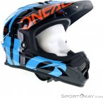 Oneal Backflip RL2 Slick Downhill Helm-Blau-L