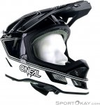 Oneal Blade Charger Downhill Helm-Schwarz-S
