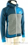 Ortovox Fleece Plus Hoody Herren Tourensweater-Blau-M