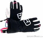 Ortovox Swisswool Freeride Glove Damen Handschuhe-Schwarz-S