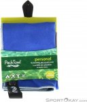 Packtowl Personal Face Mikrofaserhandtuch-Blau-One Size