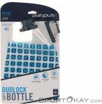 Platypus Duo Lock Soft Bottle 2l Trinkflasche-Grau-2