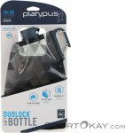 Platypus DuoLock 750ml Trinkflasche-Grau-750