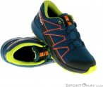 Salomon Speedcross CSWP J Jungen Traillaufschuhe-Blau-34