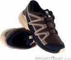 Salomon Speedcross CSWP Kinder Traillaufschuhe-Lila-34