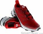 Salomon Supercross Herren Traillaufschuhe-Rot-10