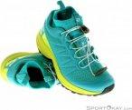 Salomon XA Enduro Damen Traillaufschuhe-Türkis-5,5