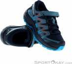 Salomon XA Pro 3D CSSWP Kinder Traillaufschuhe-Blau-29