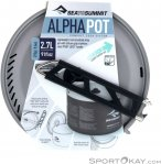 Sea to Summit Alpha Pot 2,7l Kochtopf-Grau-One Size