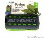 Sea to Summit Pocket Towel L Mikrofaserhandtuch-Grün-L