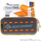 Sea to Summit Pocket Towel L Mikrofaserhandtuch-Orange-L