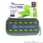 Sea to Summit Pocket Towel M Mikrofaserhandtuch-Grün-M