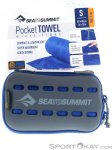 Sea to Summit Pocket Towel S Mikrofaserhandtuch-Blau-S