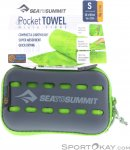 Sea to Summit Pocket Towel S Mikrofaserhandtuch-Grün-S