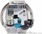 Sea to Summit Sigma Pot Cookset 2.1 Campinggeschirr-Grau-One Size