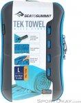Sea to Summit Tek Towel L Mikrofaserhandtuch-Türkis-L