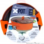 Sea to Summit X-Pot 1,4l Kochtopf-Orange-One Size