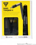 Topeak Nano Torqbar X 2-6NM Drehmomentschlüssel-Schwarz-One Size