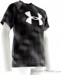 Under Armour Big Logo Print Jungen T-Shirt-Schwarz-S