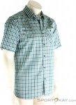 Vaude Albsteig Shirt Herren Outdoorhemd-Blau-M