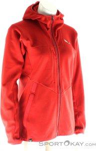 Salewa Antelao Fleece Damen Tourensweater-Rot-36