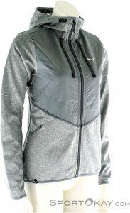 Salewa Fanes Hybrid PL Full Zip Damen Outdoorsweater-Grau-M