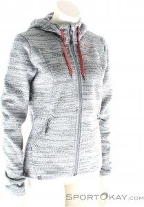 Salewa Fanes PL Zip Hoody Damen Outdoorsweater-Grau-S