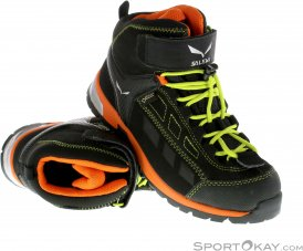Salewa JR ALP Player Mid GTX Kinder Wanderschuhe Gore-Tex-Schwarz-29