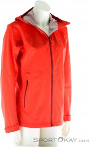 Salewa Puez Aqua 3 PTX Damen Outdoorjacke-Rot-L