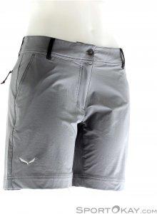 Salewa Puez DST W Short Damen Outdoorhose-Grau-38