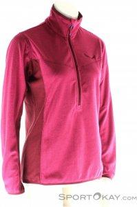 Salewa Puez Plose Fleece Damen Tourensweater-Lila-40