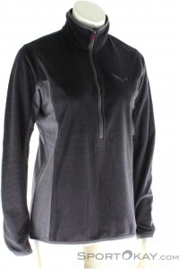 Salewa Puez Plose Fleece Damen Tourensweater-Schwarz-34