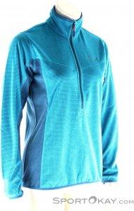 Salewa Puez Plose Fleece Damen Tourensweater-Türkis-40