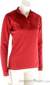 Salewa Sesvenna PL W L/S Tee Damen Outdoorsweater-Rot-M