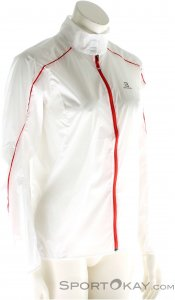 Salomon S-LAB Light Jacket Damen Outdoorjacke-Weiss-XS