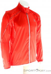Salomon S-LAB Light Jacket Herren Outdoorjacke-Rot-L