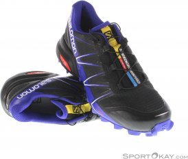Salomon Speedcross 3 Pro Damen Traillaufschuhe-Lila-4,5