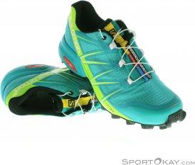 Salomon Speedcross 3 Pro Damen Traillaufschuhe-Türkis-3,5