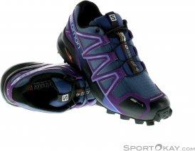 Salomon Speedcross 4 CS Damen Traillaufschuhe-Lila-5,5