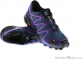 Salomon Speedcross 4 CS Damen Traillaufschuhe-Lila-6,5