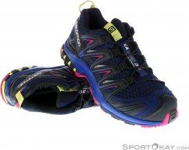 Salomon XA Pro 3D Damen Traillaufschuhe-Mehrfarbig-4,5