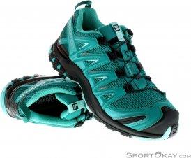 Salomon XA Pro 3D Damen Traillaufschuhe-Türkis-4