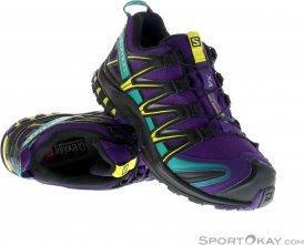 Salomon XA Pro 3D GTX Damen Traillaufschuhe Gore-Tex-Lila-7,5
