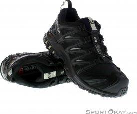 Salomon XA Pro 3D GTX Damen Traillaufschuhe Gore-Tex-Schwarz-7,5