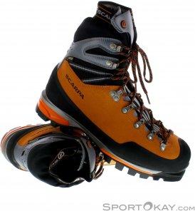 Scarpa Mont Blanc Pro GTX Herren Bergschuhe Gore-Tex-Orange-41,5