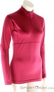 Scott Base Dri 1/4 Zip Women's Shirt Damen Funktionsshirt-Lila-L
