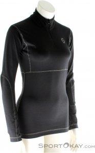Scott Base Dri 1/4 Zip Women's Shirt Damen Funktionsshirt-Schwarz-M