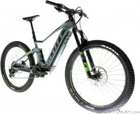 Scott E-Spark 720 2018 E-Bike Trailbike-Grau-M