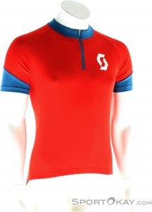 Scott Endurance Q-Zip S/SL Shirt Herren Bikeshirt-Rot-S